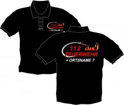 Feuerwehr Polos bedruckte Herrenbekleidung Feuerwehr Ffw Arbeitsshirts