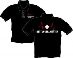 Rettungssanitäter Polos T-Shirt  Rettung Helfer vor Ort Berufe