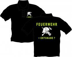 Feuerwehr Polos Einsatz DRK Shirts Arbeitsbekleidung bedruckt Vereinsshirts