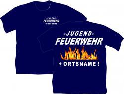 Jugend Feuerwehr Bekleidung Vereine Ortsname Aufdruck Logo Ortswehr